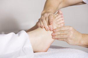 Mobilizzazione piede fisioterapia Milano